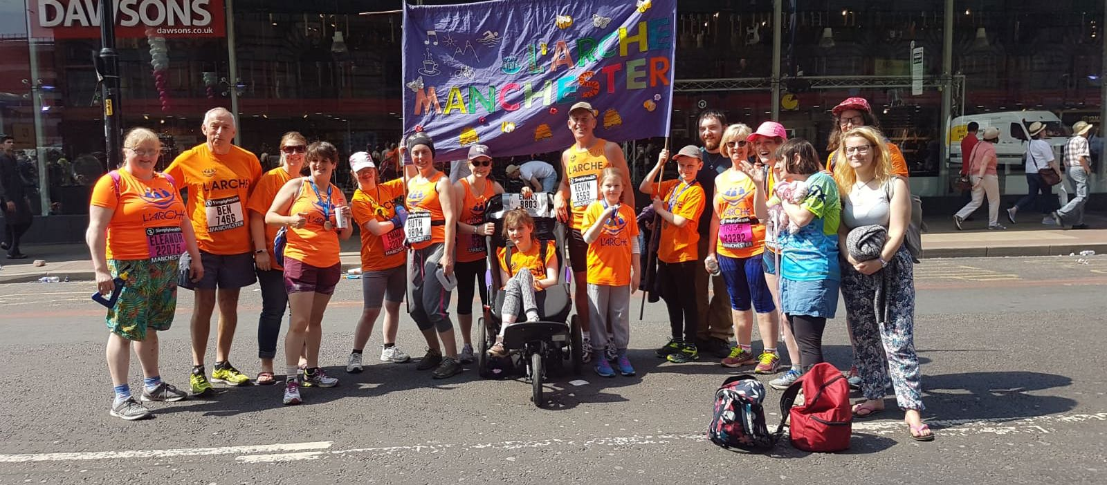 L'Arche Manchester is running the Manchester 10k