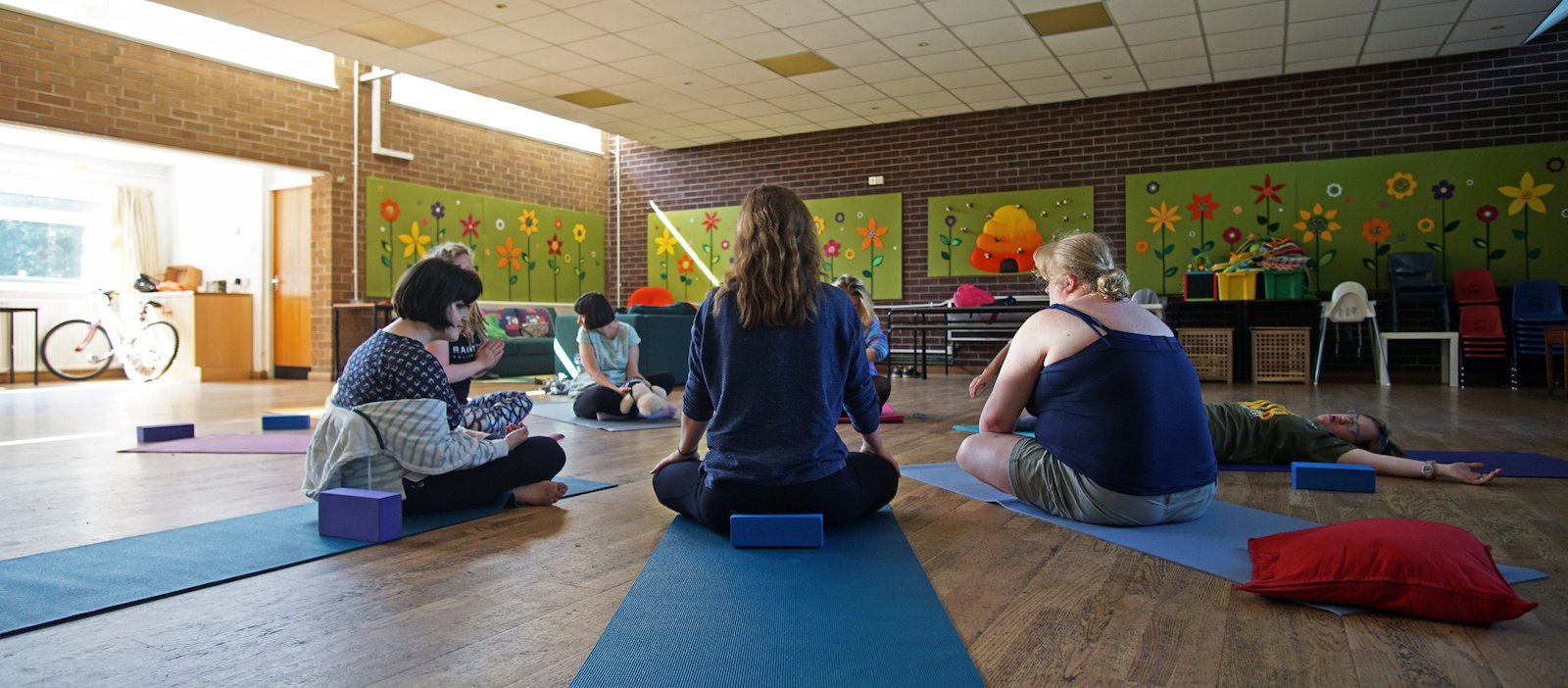 Inclusive yoga for people with and without learning disabilities